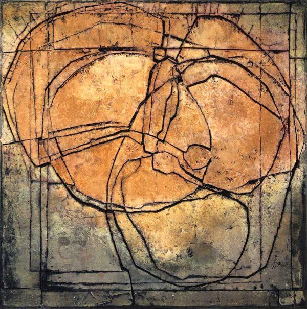 Gerd Kanz Artwork - Kunstwerk - Tafelbild 01