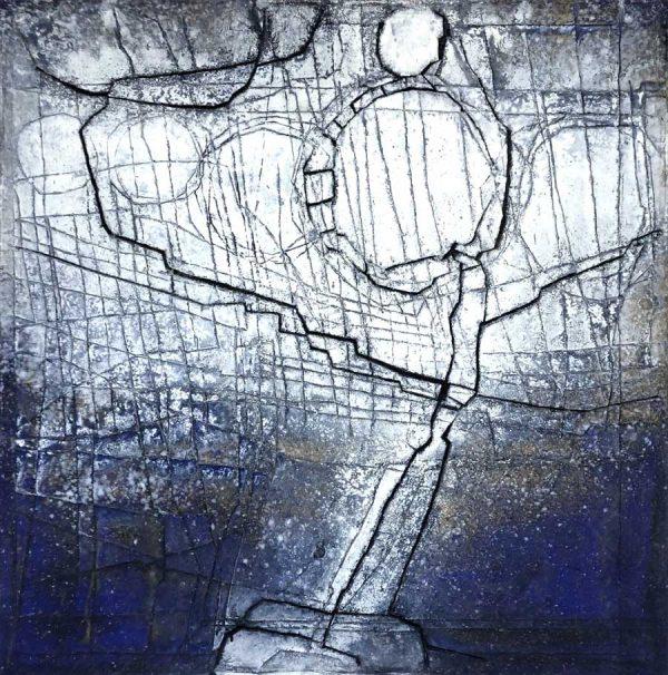 Gerd Kanz Artwork - Kunstwerk - Tafelbild 02