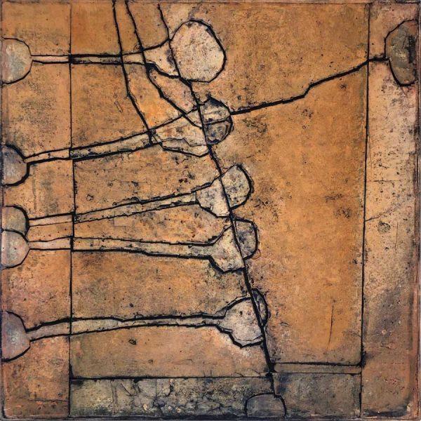 Gerd Kanz Artwork - Kunstwerk - Tafelbild 03