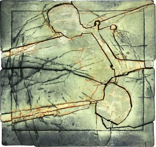 Gerd Kanz Artwork - Kunstwerk - Tafelbild 05