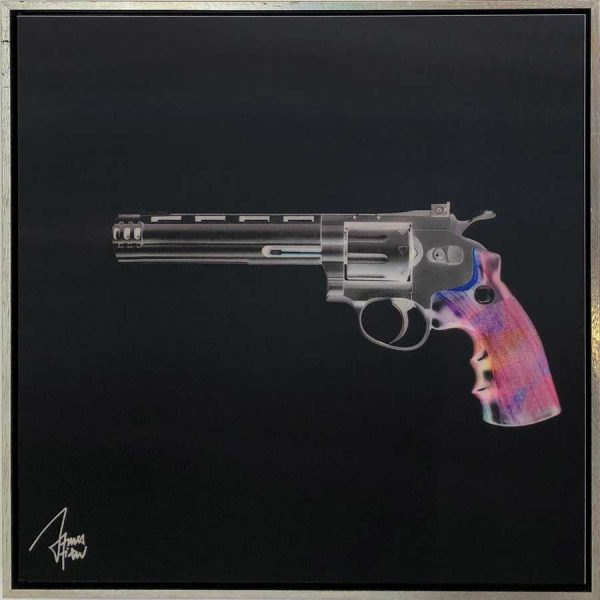 James Chiew Artwork - Kunstwerk - Lenticular Revolver