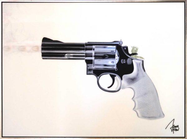 James Chiew Artwork - Kunstwerk - Lenticular Revolver 7o10