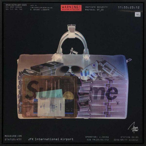 James Chiew Artwork - Kunstwerk - Lenticular X-Ray Bag Supreme