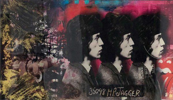 James Chiew Artwork - Kunstwerk - Mick Jagger