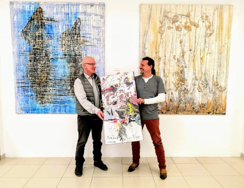 Jodd von Schaffstein visits the hmh gallery