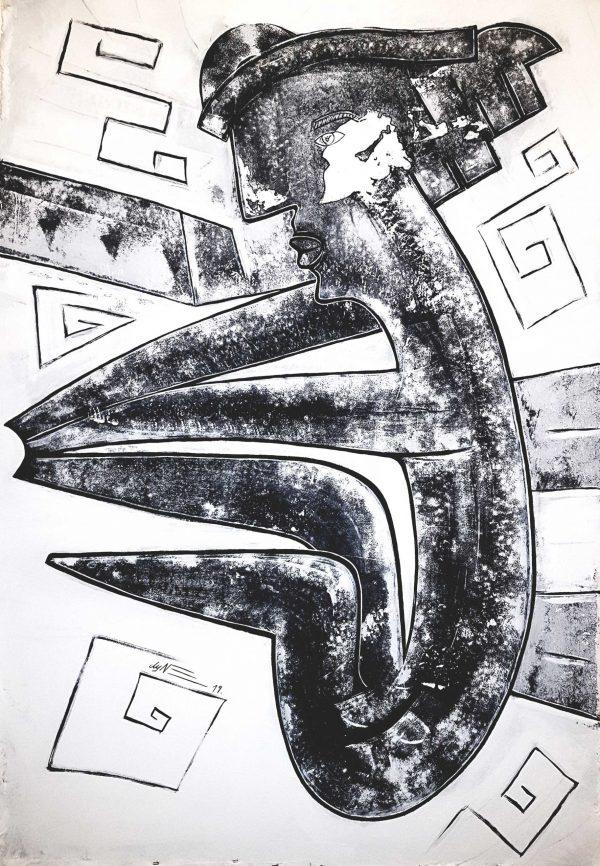 Michael Dyne Mieth Kunstwerk Artwork NOLA